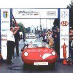 Unser Goggomobil Dart 400 erfolgreich im Einsatz bei der Deutschland-Rallye.