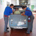 Kleiner Service bei der Fa. Mechatronik in Pleidelsheim
