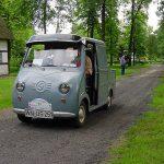 Fahrt durchs Museumsdorf in Cloppenburg