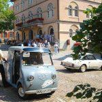 Bad Wimpfen: Glas-Fahrer grüßt