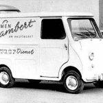 Ein Fleurop-Transporter 1962